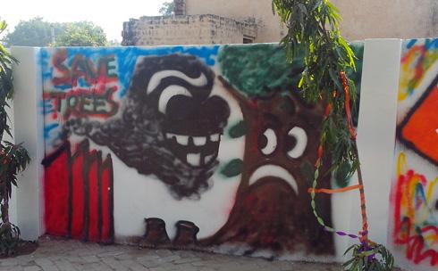 Graffiti with ZS Associates