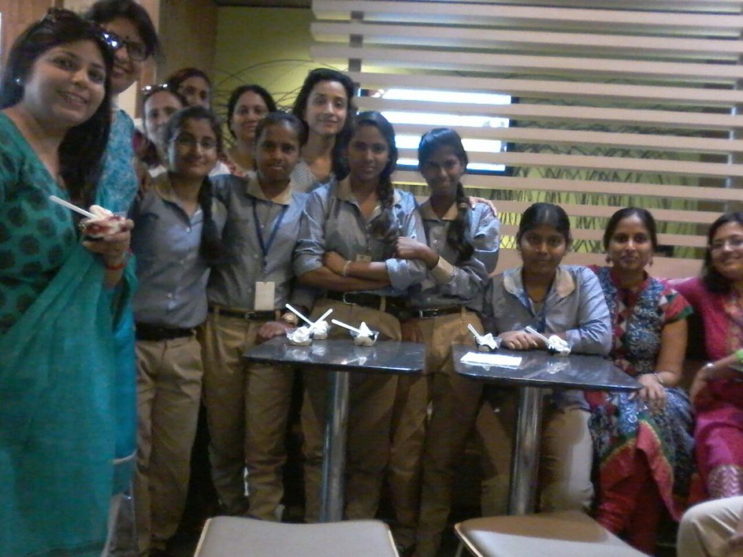 Celebrating the awesome results of Class VIII