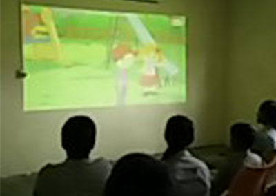 Well Equipped AV room for digital teaching