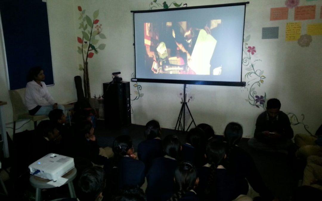 Screening of 'Nil Batte Sannata'