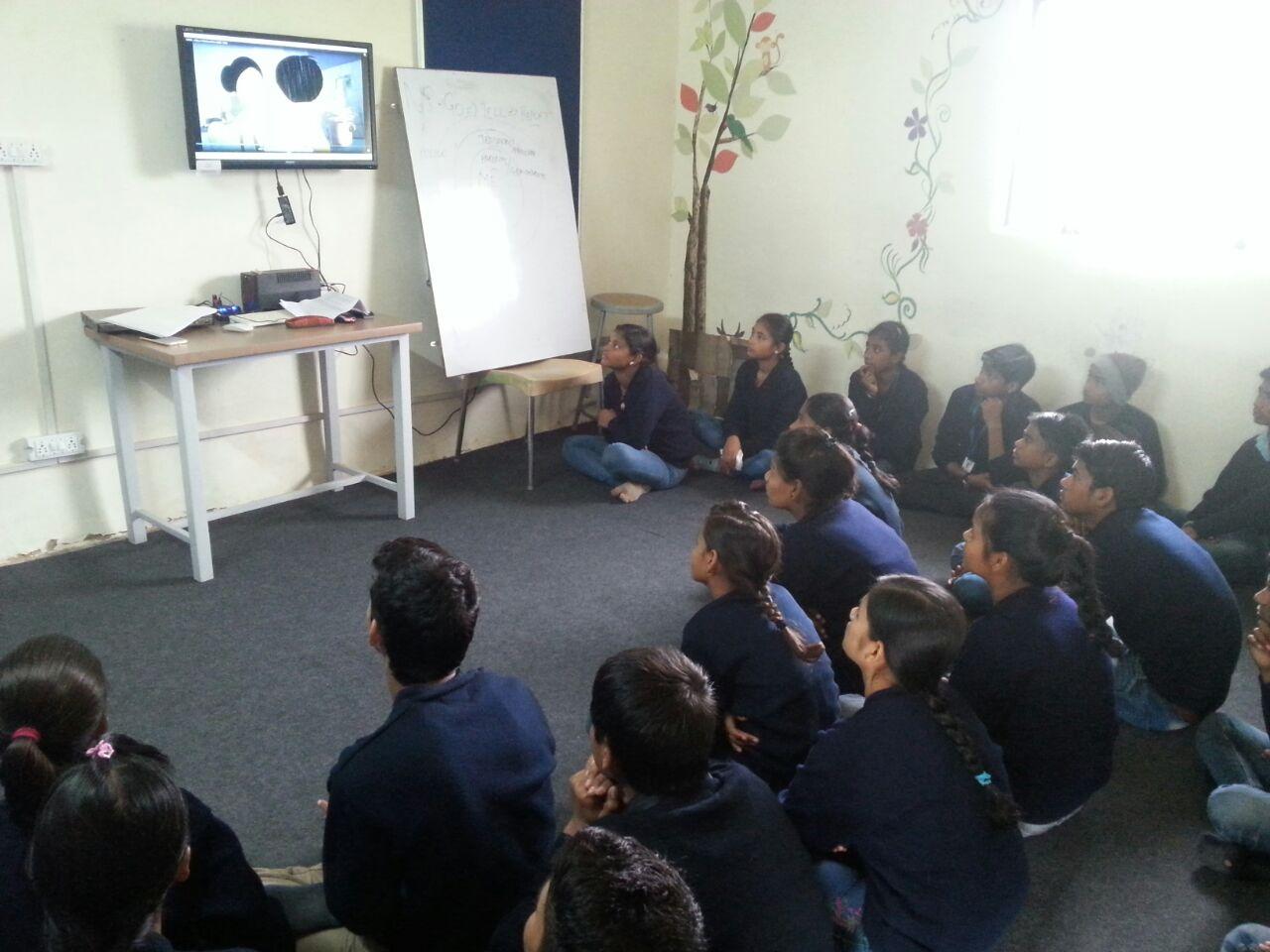 Teaching via Audio Visual