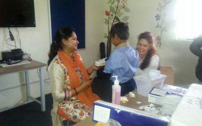 Typhoid vaccination