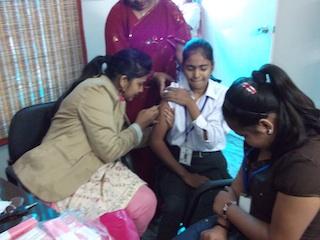 Cervix Cancer Vaccination