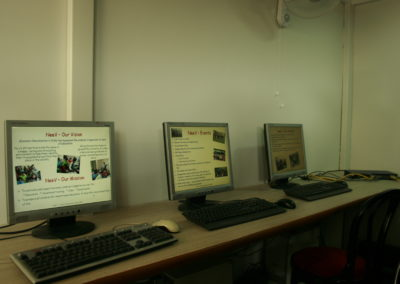 Well equipped Computer Training centre