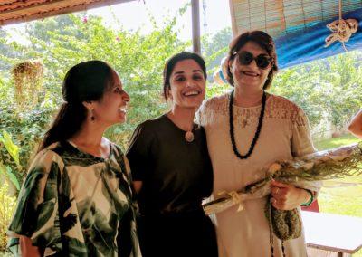 Felicitating Madhu