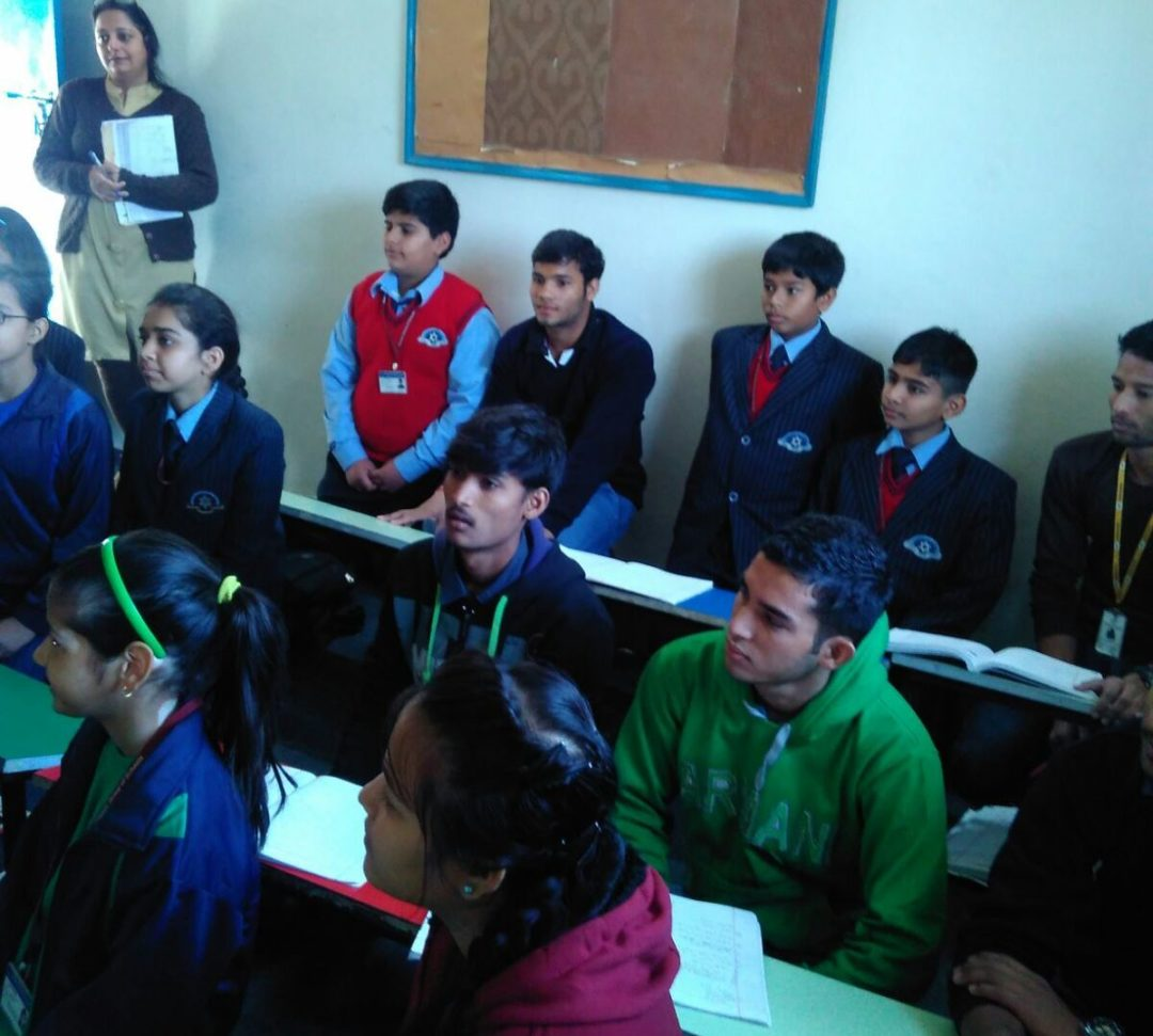 Mix-up with Shalom Hills students
