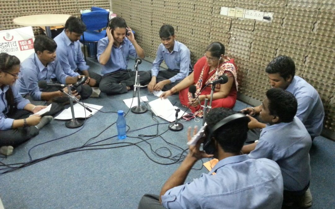 Visit to Radio Station – Gurgaon ki Awaaz