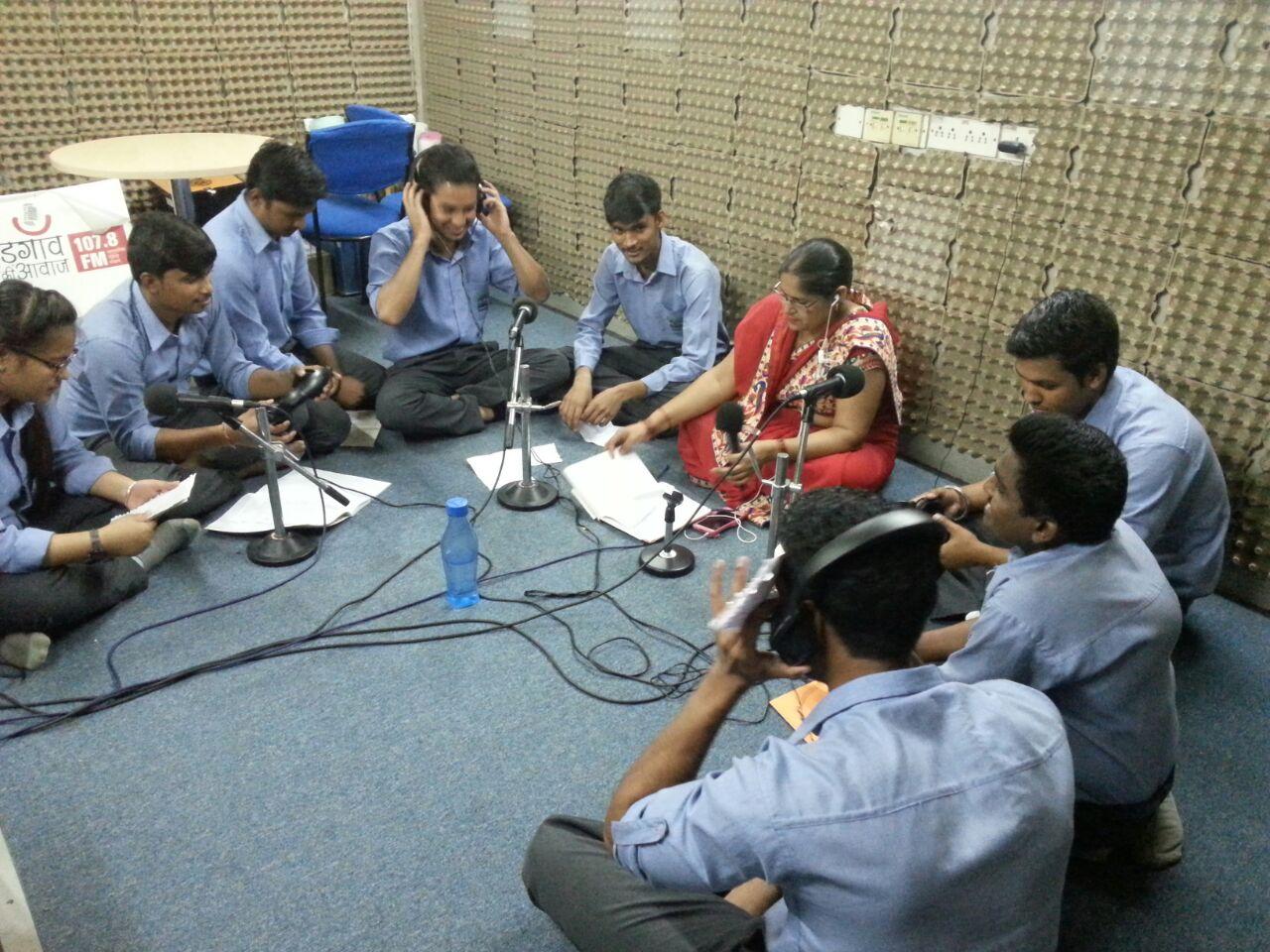 Visit to Radio Station – Gurgaon ki Awaaz