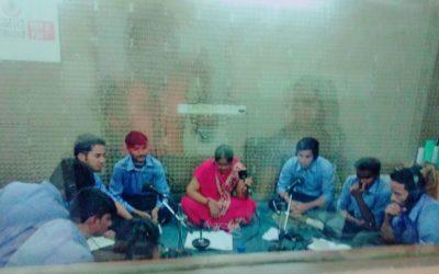 "Class XII on Save Environment at ""Gurgaon ki Awaaz"""