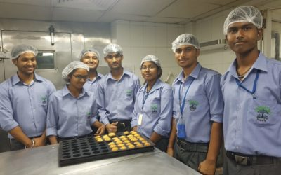 Baking session at DoubleTree Kitchen