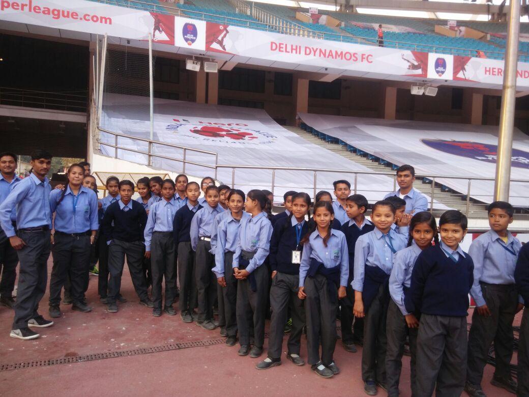 As mascots at Delhi Dynamos FC