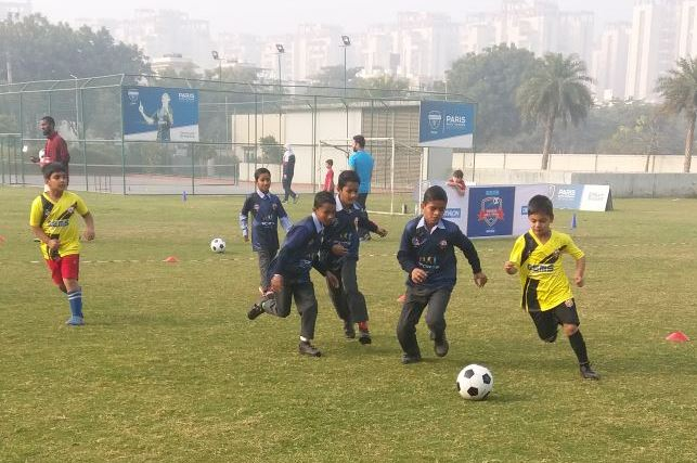 Soccer match-GEMS Junior League