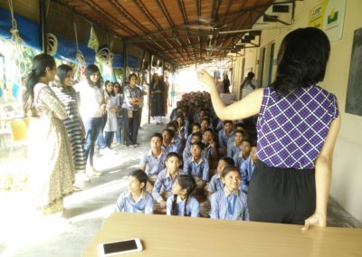 Inauguration of digital lab – School Over Cloud