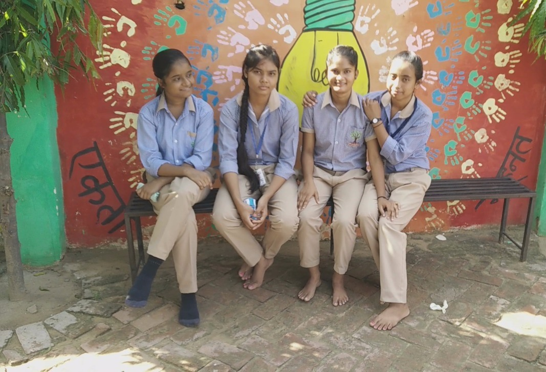 chit-chat with friends during break