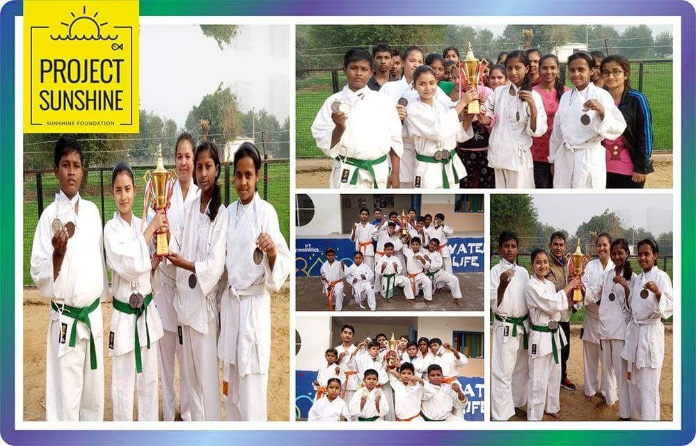 Karate Champions at Gurgaon Meet