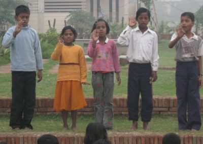 Group Song on Children's Day