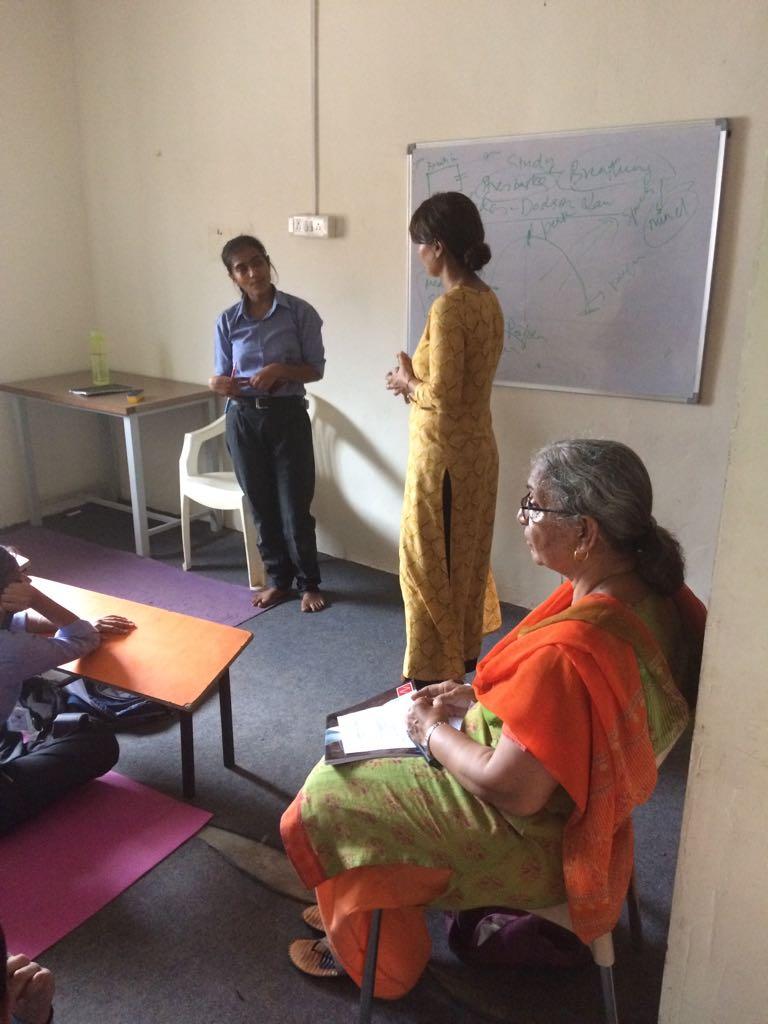 Session on managing Exam Stress