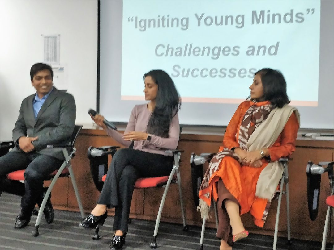 Panel discussion at ZS Cares Day