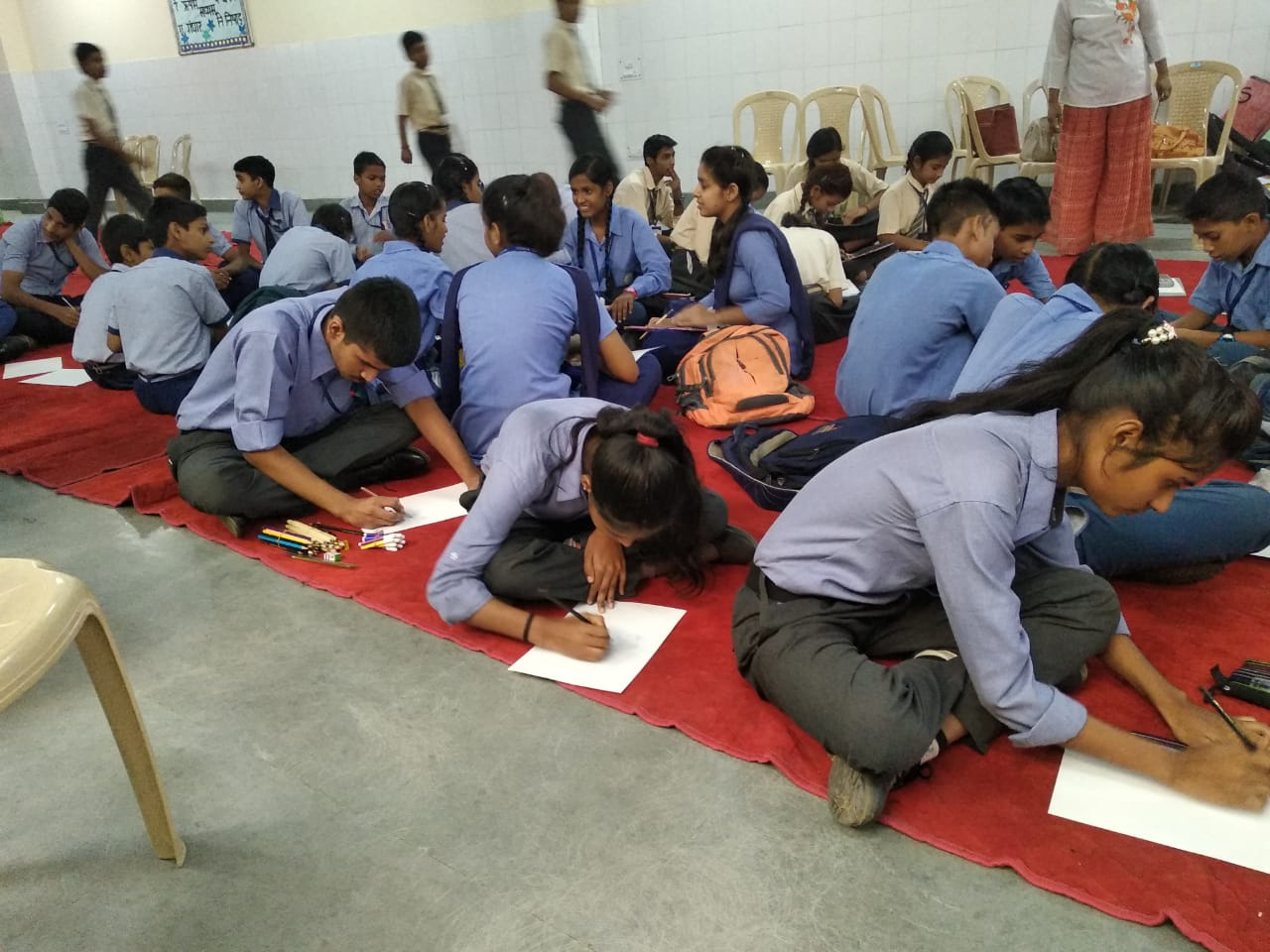 Inter-school Drawing COmpetition