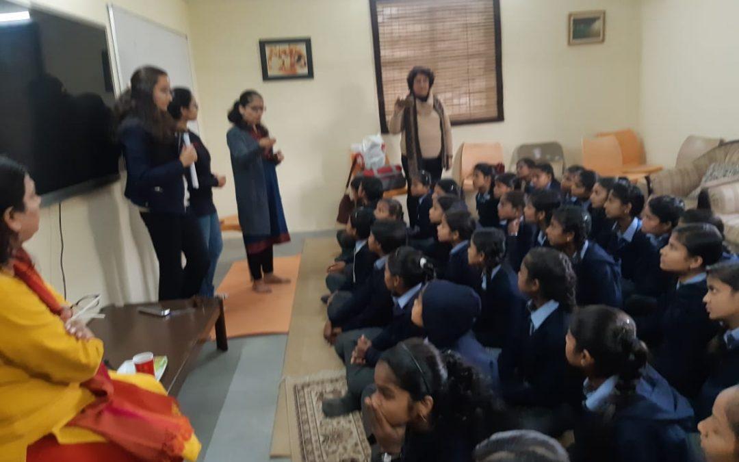Session on Menstrual Hygiene