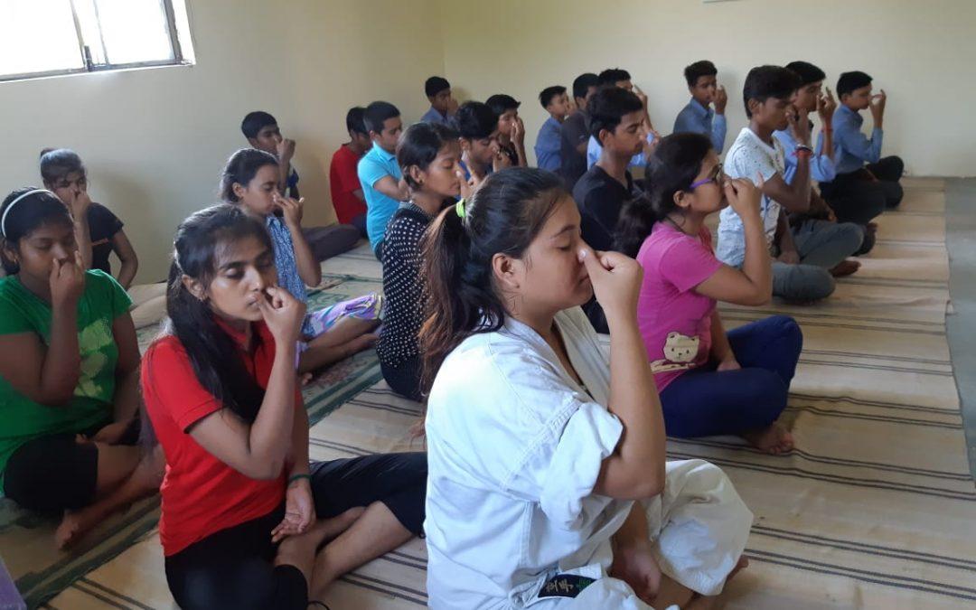Upa Yoga session by Isha Foundation